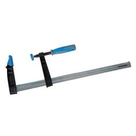 Serre-joint à visser usage intensif L. 800 x 120 mm - 456898 - Silverline