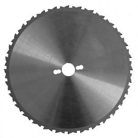 Lame carbure de chantier D. 230 x Al. 30 mm. x 24 dents alt. Multi matériaux - 223.230.3024 - Leman