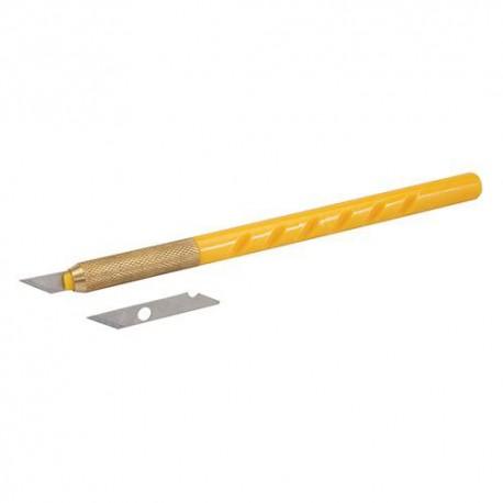 Scalpel + 25 lames - 456928 - Silverline