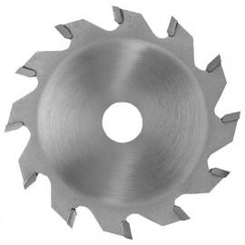 Lame carbure à rainer D. 150 x ép dents 8 mm. x Al. 30 mm. 12 dents. Plate pour bois - 360.150.8012 - Leman
