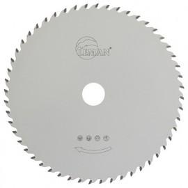 Lame carbure multi-materiaux D. 190 mm. x ép dents 2,0 - 1,4 x Al. 30 mm. 55 dents - 923.190.3055 - Leman