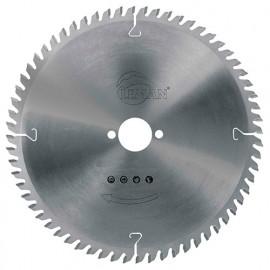 Lame carbure pour portative festool D. 260 x Al. 30 ép. 2,5 mm. x 60 dents neg. alt. - 964.260.2560 - Leman