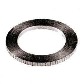 Bague de réduction cranté pour lame de scie circulaire 30 à 25 mm. Ep. 1,8 - 9650.3025.18 - Leman