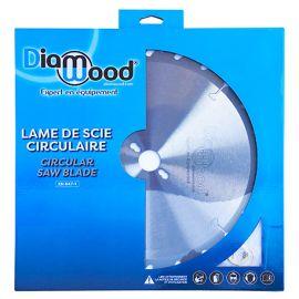 Lame de scie circulaire HM finition D. 255 x Al. 30 x ép. 3,2/2,2 mm x Z80 TP Neg pour Alu/bois - Diamwood