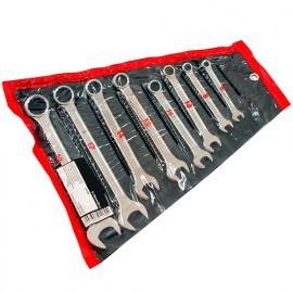 Trousse de 8 clés mixtes WS 6 à 19 mm - BE-312180 - Diamwood