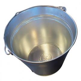 Seau acier galavanisé 12 litres - BE-667012 - Diamwood