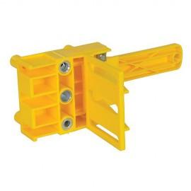 Gabarit de tourillon D. 6, 8 ou 10 mm pour bois / panneaux de 30 mm max - 508819 - Silverline