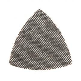 10 triangles abrasifs treillis auto-agrippants 95 mm Grain 40 - 517851 - Silverline