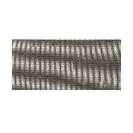 10 feuilles abrasives treillis auto-agrippantes 93 x 230 mm Grain 120 - 525553 - Silverline