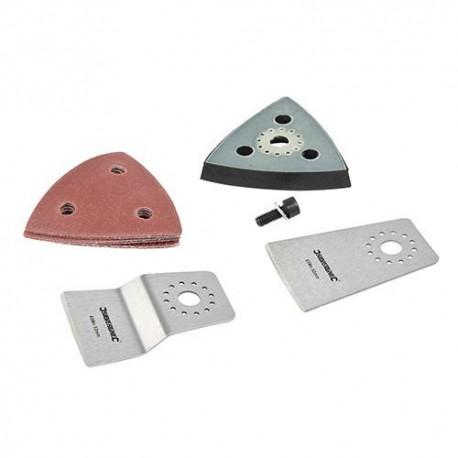 Ensemble de 10 accessoires pour outil oscillant Silverline - 539367 - Silverline