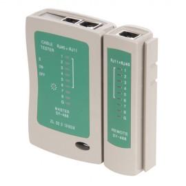 Testeur LAN RJ11 et RJ45 - 539465 - Silverline