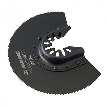 Lame de scie segment bi-métal D. 88 mm pour outil oscillant - 557277 - Silverline