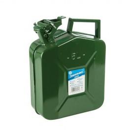 Bidon à essence métal 10 L - 563474 - Silverline