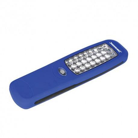 Torche magnétique LED 120 lumens L. 210 mm - 564789 - Silverline