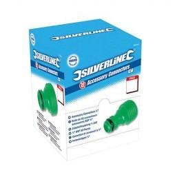 """Boîte présentoir de 50 raccords 3/4"""" pour accessoires - 580449 - Silverline"""