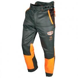 Pantalon de travail forestier AUTHENTIC spécial tronçonneuse classe 1 type A - SOLIDUR