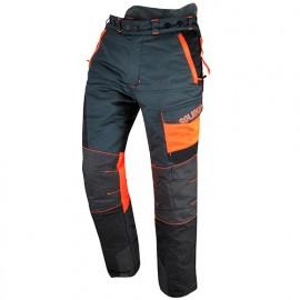 Pantalon de travail forestier COMFY spécial tronçonneuse classe 1 type A - SOLIDUR
