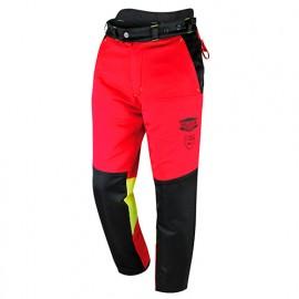 Pantalon de travail forestier FELIN spécial tronçonneuse classe 1 type A - SOLIDUR