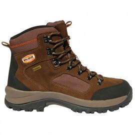 Chaussures montantes de marche avec membrane imper respirante, renfort avant et arriere GINKO - SOLIDUR