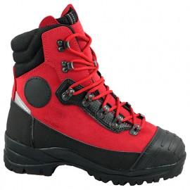 Chaussures montantes rigides INFINITY spécial tronçonneuse membrane Event cuir Perwanger classe 3 - SOLIDUR