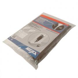 Kit protection de porte Ht. 220 x l. 112 cm en U avec zip - Spécial rénovation - 180090 - Mejix