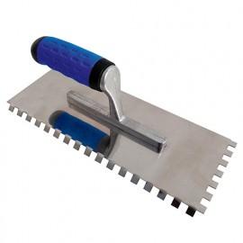 Platoir à dents coudées 285 x 115 mm U 8 x 8 - 180251 - Mejix