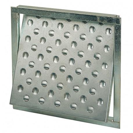 Trappe de visite galvanisée 300 x 300 mm - 180353 - Mejix