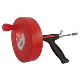Déboucheur à tambour 7,6 m D. 12 mm - 180554 - Mejix
