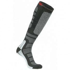 Chaussettes hautes de travail thermolite PowerFit - SKY Black Carbon - SK046BC - U-Power