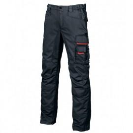 Pantalon de travail avec doublure flanelle - GRIN Deep Blue - HY107DB - U-Power