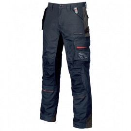 Pantalon de travail avec poche amovible fly pocket - RACE Deep Blue - SY001DB - U-Power