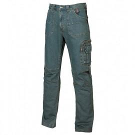 Pantalon de travail jeans en stretch - TRAFFIC Rust Jeans - ST071RJ - U-Power
