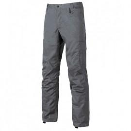 Pantalon de travail avec petite poche portemonnaie - BRAVO Grey Meteorite - ST069GM - U-Power
