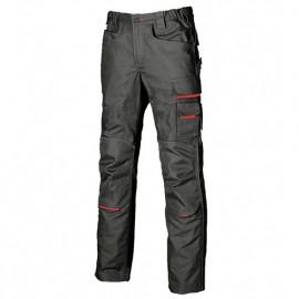 Pantalon de travail doté de deux grandes poches italiennes - FREE Black Carbon - DW022BC - U-Power
