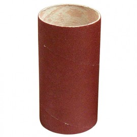 Manchon abrasif pour support caoutchouc D. 62 mm Al. 30 mm Ht. 120 mm Gr. 080 mm - 065.120.080 - Leman