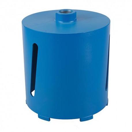 Couronne diamantée perforateur D. 91 pour matériaux de construction Lu 150 mm - 598433 - Silverline