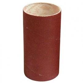 Manchon abrasif pour support caoutchouc D. 82 Al. 50 mm Ht. 120 mm Gr. 060 - 085.120.060 - Leman