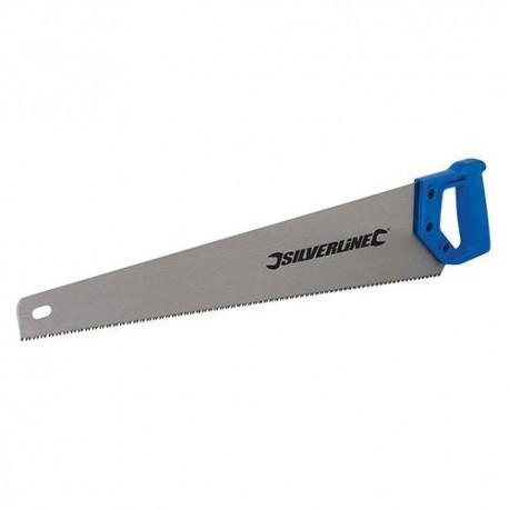 Scie à denture Hardpoint L. 500 mm 7 TPI - 598450 - Silverline