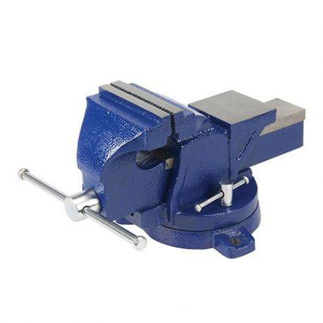 Étau d'ingénieur à base pivotante, serrage max 100 mm, 8 kg