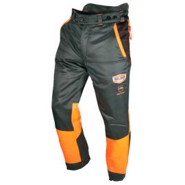Pantalon AUTHENTIC protection totale 360° special tronçonneuse type C classe 1 - AUPA1C - Solidur