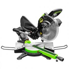 Scie à onglet radiale D.254 mm électrique - 2000 W 230 V - ZI-KGS250K - Zipper