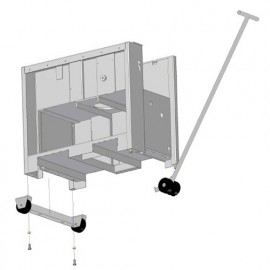 Kit de déplacement pour machines 480 kg maxi. ADM410-FE - Holzprofi