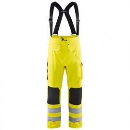 Pantalon de pluie haute-visibilité niveau 2 - 3300 Jaune fluo - Blaklader