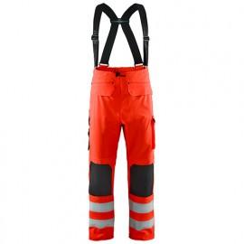 Pantalon de pluie haute-visibilité niveau 2 - 5500 Rouge fluo - Blaklader