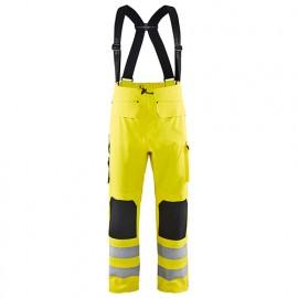 Pantalon de pluie haute-visibilité niveau 3 - 3300 Jaune fluo - Blaklader