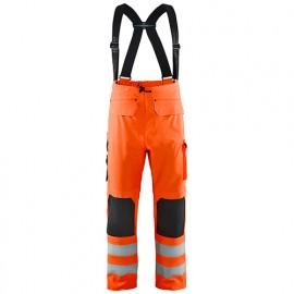 Pantalon de pluie haute-visibilité niveau 3 - 5300 Orange fluo - Blaklader