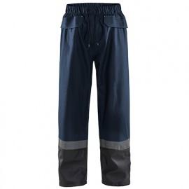 Pantalon de pluie niveau 2 - 8699 Marine foncé/Noir - Blaklader