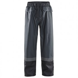 Pantalon de pluie niveau 2 - 9899 Gris Foncé/Noir - Blaklader