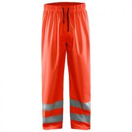 Pantalon de pluie haute-visibilité niveau 1 - 5500 Rouge fluo - Blaklader