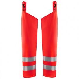 Guêtre de pluie haute-visibilité niveau 1 - 5500 Rouge fluo - Blaklader
